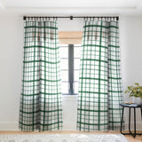 Gabriela Fuente Winter Love Sheer Window Curtain