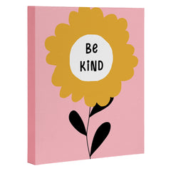 Gale Switzer Be Kind bloom Art Canvas