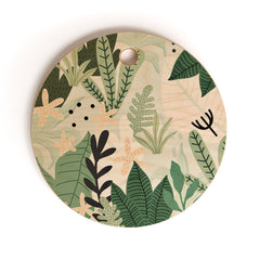 Gale Switzer Into the Jungle II Cutting Board Round