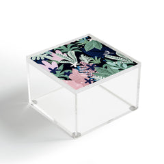 Gale Switzer Into the Jungle midnight Acrylic Box