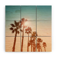 Gale Switzer Sundowner Wood Wall Mural