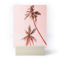 Gale Switzer Sunset Palm Trees Mini Art Print