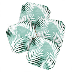 Gale Switzer Tropical Bliss jungle green Coaster Set
