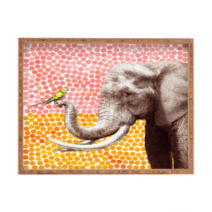 Garima Dhawan New Friends 2 Rectangular Tray