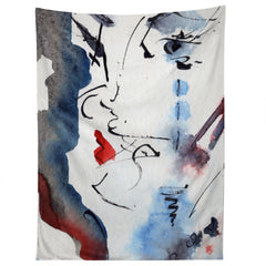 Ginette Fine Art A Kiss Is Still A Kiss Tapestry