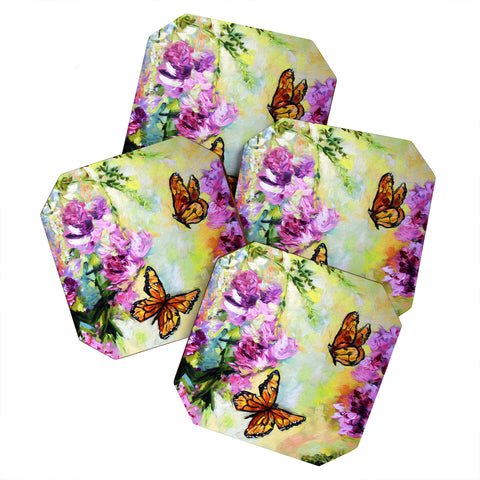 At Butterflies And Peonies Art Products Deny Designs