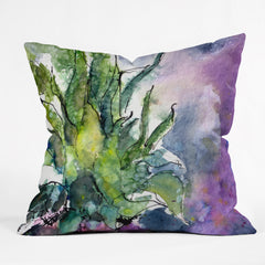 Ginette Fine Art Pineapple Top Outdoor Throw Pillow