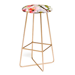 Ginette Fine Art Pink Blossoms Spring Bar Stool