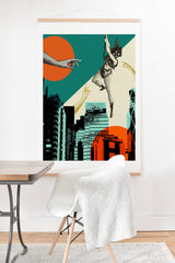 Ginger Pigg new york 2 Art Print And Hanger