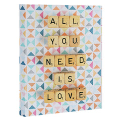 Happee Monkee All You Need Is Love 2 Art Canvas