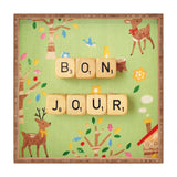 Happee Monkee Bonjour Square Tray
