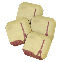 Happee Monkee Eiffel Tower Coaster Set
