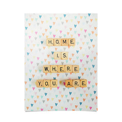 Happee Monkee Home Where You Are Poster