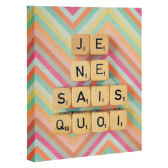 Happee Monkee Je Ne Sais Quoi Art Canvas