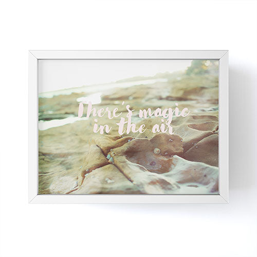 Happee Monkee There is Magic in the Air Framed Mini Art Print