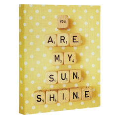 Happee Monkee You Are My Sunshine Art Canvas