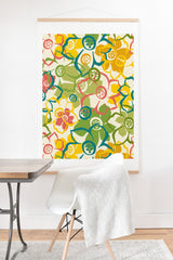 Heather Dutton Bouquet Art Print And Hanger