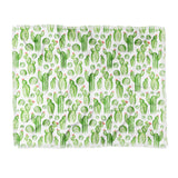 Heather Dutton Cactus Gardens Throw Blanket