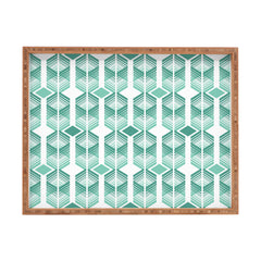 Heather Dutton De Lux Mint Rectangular Tray
