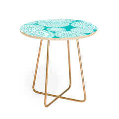 Heather Dutton Delightful Doilies Tiffany Round Side Table