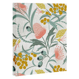 Heather Dutton Flora Australis White Art Canvas