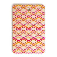 Heather Dutton Intersection Bright Cutting Board Rectangle