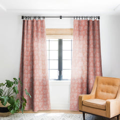 Heather Dutton Island Breeze Living Coral Blackout Window Curtain