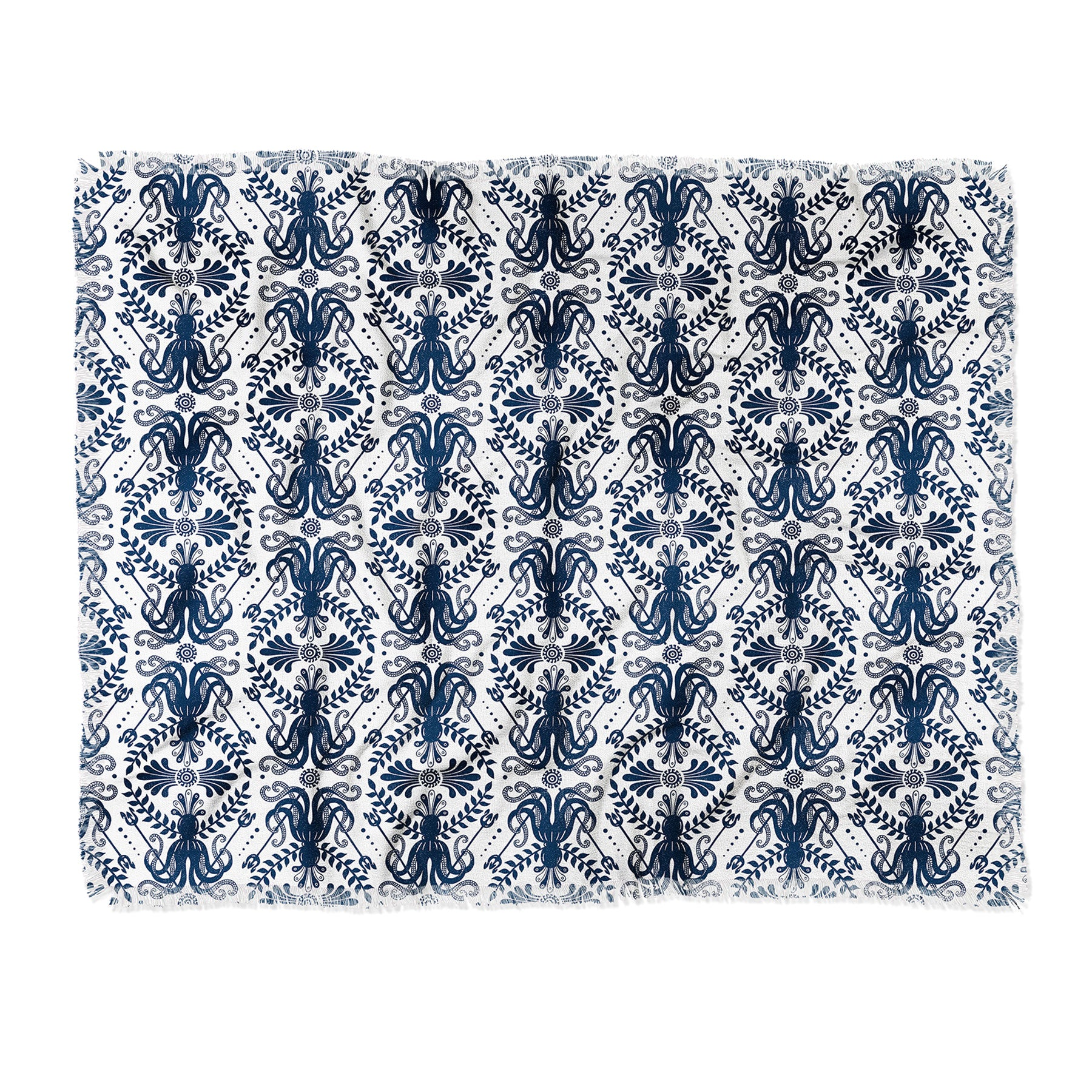 Heather Dutton Mythos Oceanic Throw Blanket