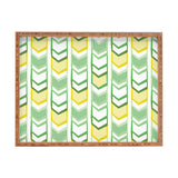 Heather Dutton Right Direction Lemon Lime Rectangular Tray