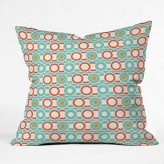 Heather Dutton Ring A Ding Outdoor Throw Pillow