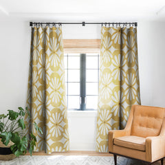 Heather Dutton Solstice Goldenrod Blackout Window Curtain