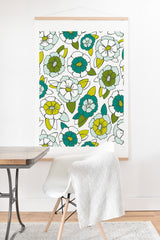 Heather Dutton Tropical Bloom Art Print And Hanger