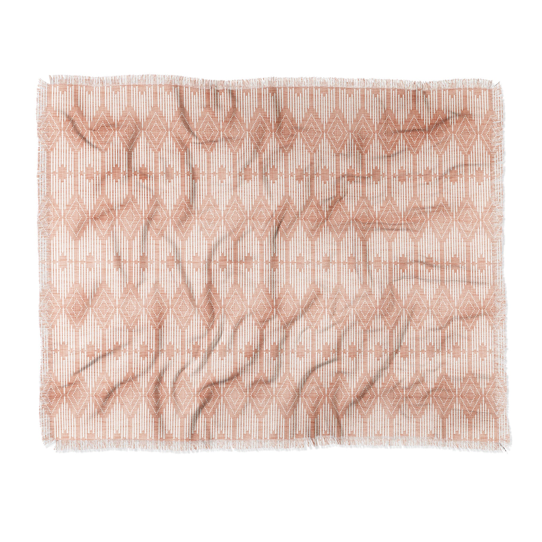 Heather Dutton West End Blush Throw Blanket