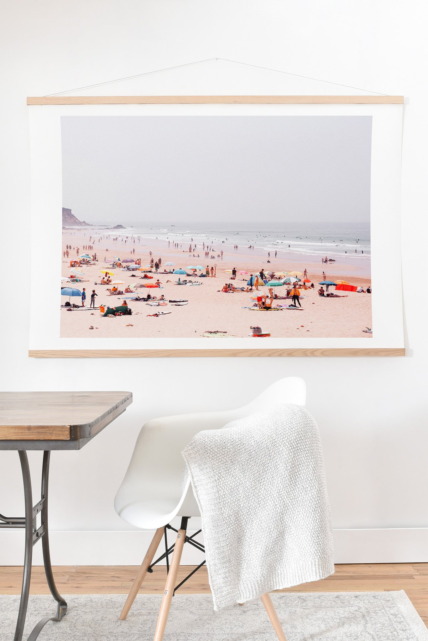 Hello Twiggs At the beach Art Print And Hanger