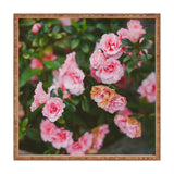 Hello Twiggs Small Roses Square Tray