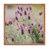 Hello Twiggs Sunset Lavender Square Tray