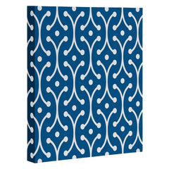 Holli Zollinger Denim Picket Art Canvas