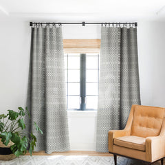 Holli Zollinger Geo Mudcloth Blackout Window Curtain