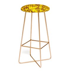 Holli Zollinger JUNGLIA PALM GOLD Bar Stool