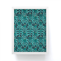 Holli Zollinger MAISEY TEAL Framed Mini Art Print