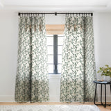 Holli Zollinger OLIVE BLOOM Sheer Window Curtain