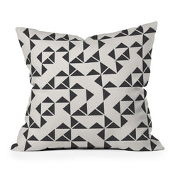 Holli Zollinger Pinwheels Throw Pillow