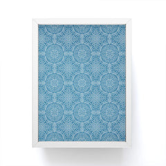 Holli Zollinger SALA BLUE Framed Mini Art Print