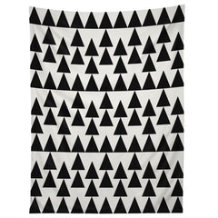 Holli Zollinger Triangles Black Tapestry