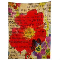 Irena Orlov Poppy Poetry 2 Tapestry