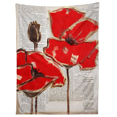 Irena Orlov Red Perfection Tapestry