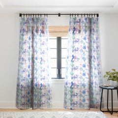 Jacqueline Maldonado Dye Ovals Pastel Sheer Window Curtain