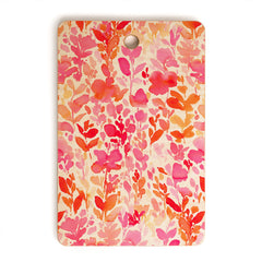 Jacqueline Maldonado Flirt Pink Cutting Board Rectangle