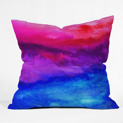 Jacqueline Maldonado Here Now Outdoor Throw Pillow