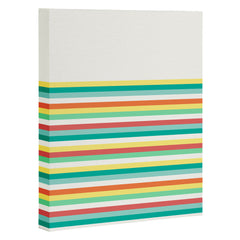 Jacqueline Maldonado New Stripe Art Canvas